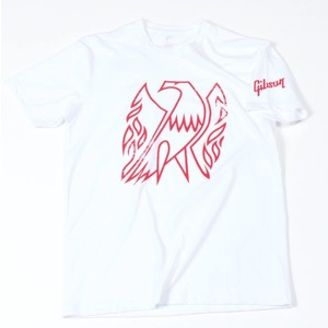 Gibson Firebird T-Shirt in White