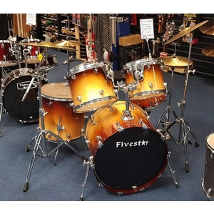 SECONDHAND Fivestar Drum Kit inc Sola Cymbals and Hardware