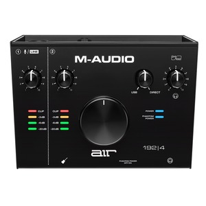 M-Audio AIR 192|4 - 2 In 2 Out USB Audio Interface (1 Mic Input) - AIR 192|4 2-Channel Interface