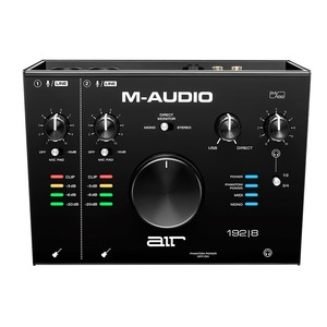 M-Audio AIR 192|8 - 2 In 4 Out USB Audio Interface w/MIDI