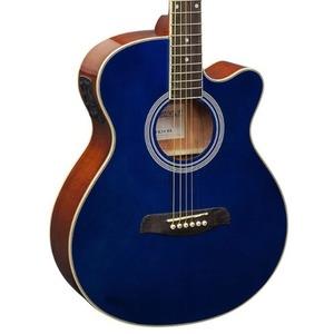 Brunswick BTK50 Electro Acoustic Guitar - Blue