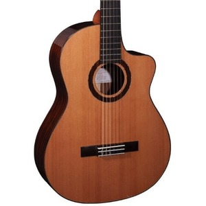 Faith Lyra Nylon String HiGloss Cutaway Classical Guitar Inc. GigBag