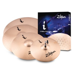 "Zildjian I Family Pro Gig Cymbal Pack - 14"" Hi -Hats, 16"" & 18"" Crash, 20"" Ride"