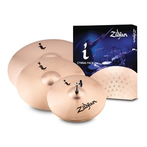 "Zildjian I Family Standard Gig Cymbal Pack - 14"" Hi-Hats, 16"" Crash, 20"" Ride"