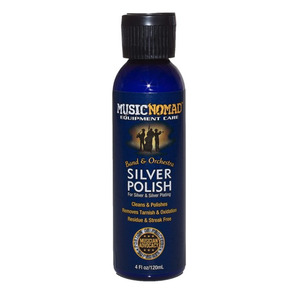 Music Nomad Silver Polish for Silver and Silver Plating