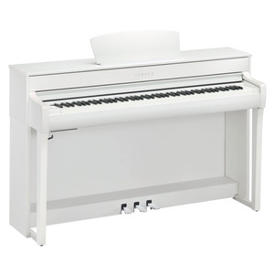 Yamaha Clavinova CLP735 Digital Piano - White