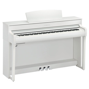 Yamaha Clavinova CLP745 Digital Piano - White