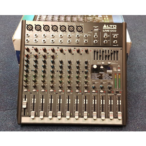 SECONDHAND Alto Live 1202 12 channel Mixer