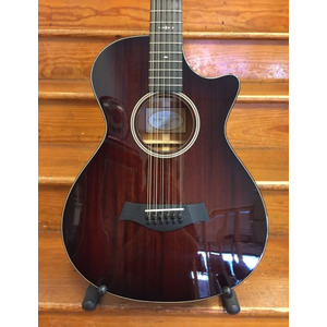SECONDHAND Taylor 562CE 12 Fret 12 String, Brown Stain Shaded Edge Burst