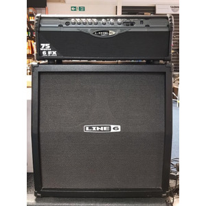 "SECONDHAND Line 6 Spider II HD75 Head and 4x12"" Cab"