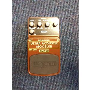 SECONDHAND Behringer AM400 Ultra Acoustic Modeller Pedal