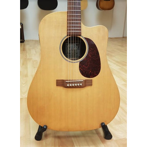 SECONDHAND Martin DCX1RE Electro Acoustic Made in USA, natural finish Inc Stagg Case