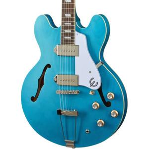 Epiphone Casino Worn Semi-Acoustic - Worn Blue Denim