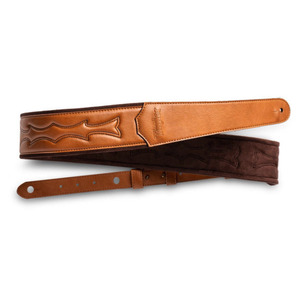 "Taylor Vegan Leather Guitar Strap - 2.75"" Tan"
