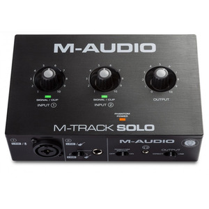M-Audio M-Track SOLO - USB Audio Interface