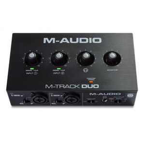 M-Audio M-Track DUO - 2 Channel USB Audio Interface