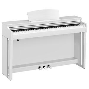 Yamaha Clavinova CLP725 Digital Piano - White