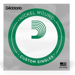 D'addario Nickel Wound Electric Single String