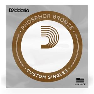 D'addario Phosphor Bronze Acoustic Single Strings