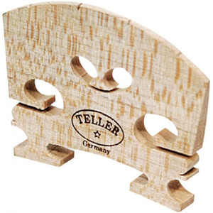 Teller Violin Bridge Shaped and Fitted