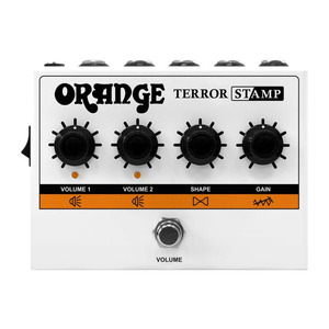 Orange Terror Stamp Amp Pedal