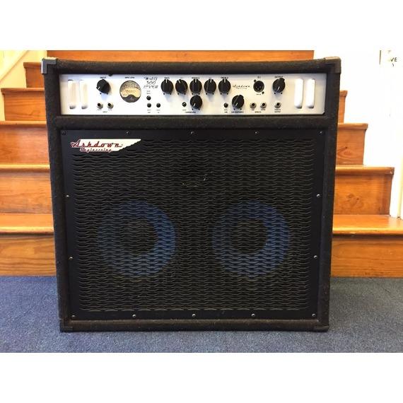 """SECONDHAND Ashdown Mag 300 C210T 2x10"""" Bass amplifier combo (carpet)"""