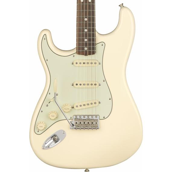 Fender American Original 60s Strat LEFT HANDED - Olympic White / Rosewood
