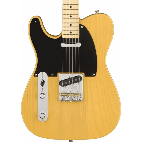 Fender American Original 50s Tele LEFT HANDED - Butterscotch Blonde / Maple