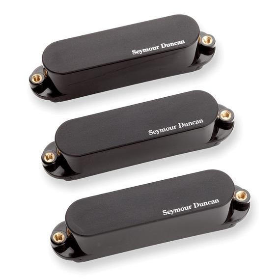 Seymour Duncan Blackout Strat AS-1S Pickup Set - Black