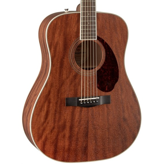 Fender Paramount PM1 Standard  MAHOGANY Dreadnought NE - All-Solid Acoustic