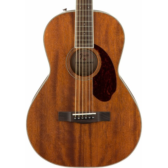 Fender Paramount PM2 Standard MAHOGANY Parlour NE - All-Solid Acoustic