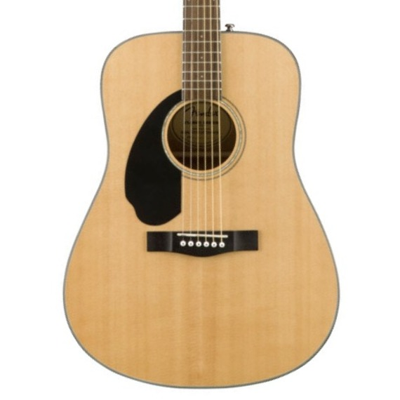 Fender CD60S LEFT HANDED Solid Top Dreadnought Acoustic Guitar - Natural