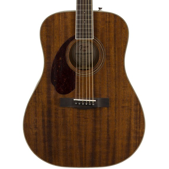 Fender Paramount PM1 Dreadnought All Mahogany - LEFT HANDED