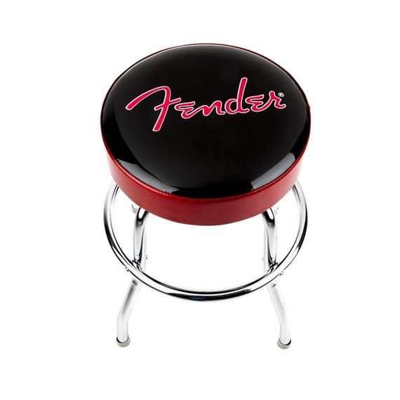 "Fender Barstool 24"" - Red/Black"