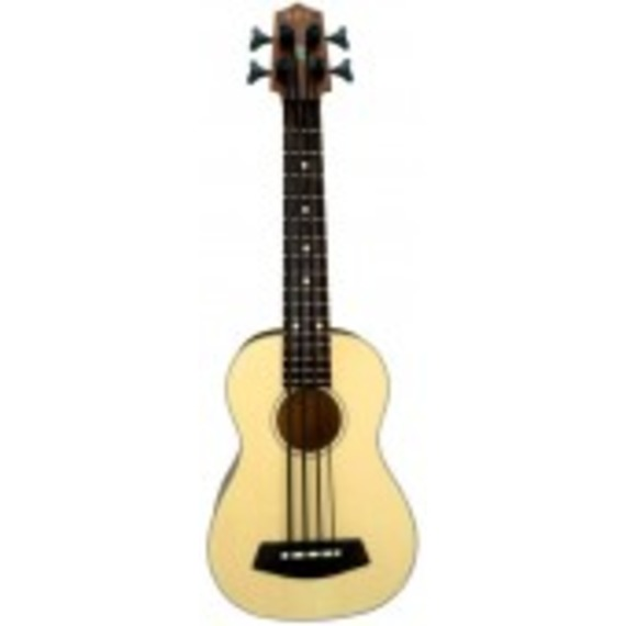 Kala UBass Fretted - Solid Spruce Top