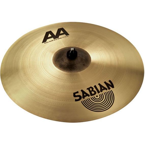 "Sabian AA Series - Raw Bell Dry Ride - 21"""