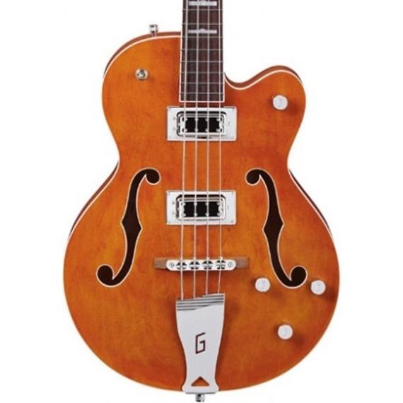 Gretsch G5440LSB Hollow Body Bass - Orange