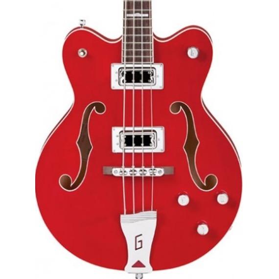 Gretsch G5442BDC Short Scale Bass - Trans Red