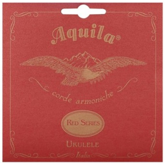 Aquila Red Series Soprano Ukulele Low G String
