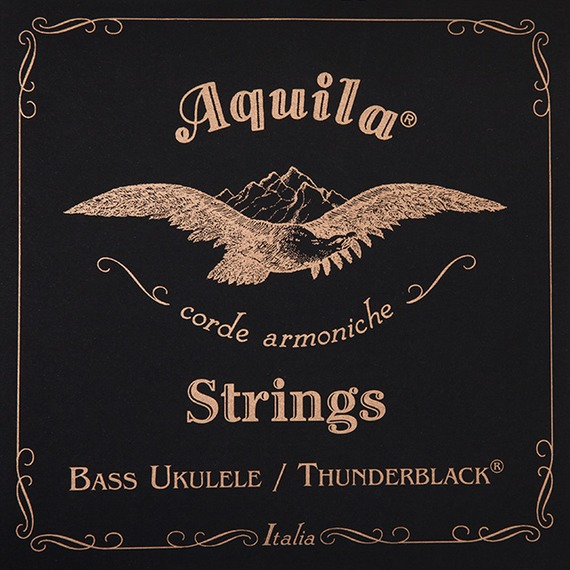 Aquila ThunderBlack UBass Strings - BLACK