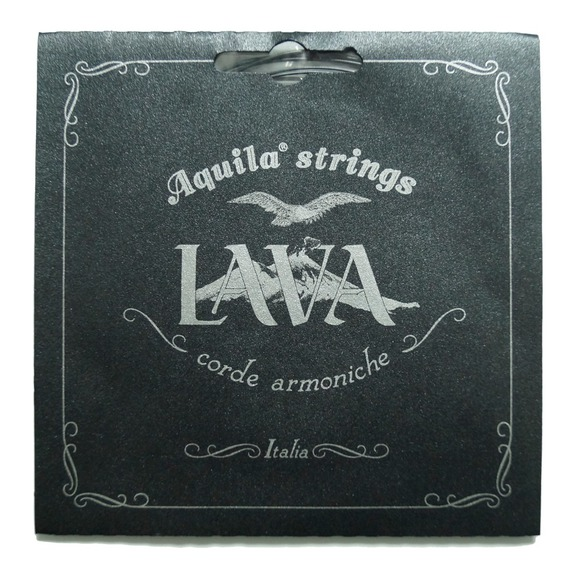 Aquila Lava SOPRANO LOW G Ukulele String Set - Black