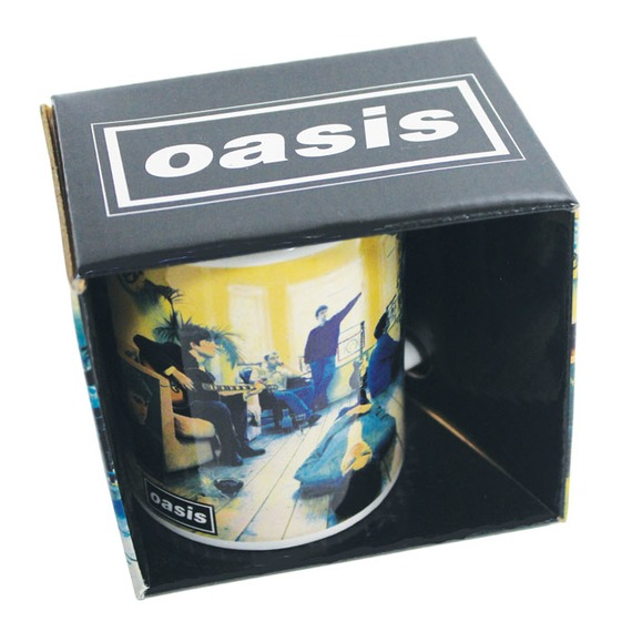 Official Oasis Boxed Mug - Definitely Maybe