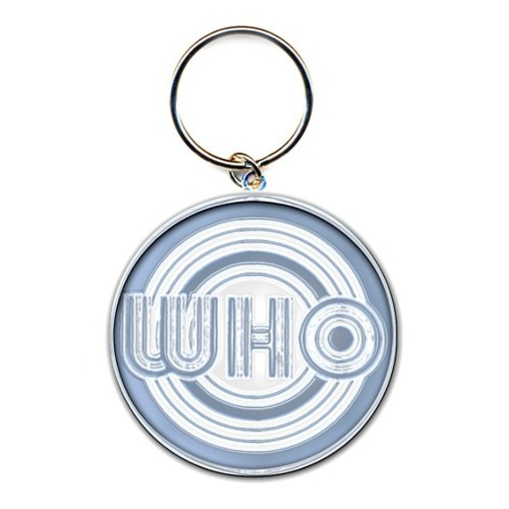 Official The Who Circles Key Ring