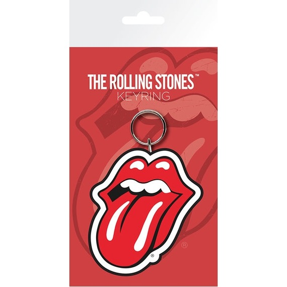 Official Rolling Stones Lips Key Ring