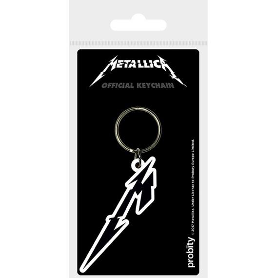 Official Metallica M Logo Key Ring