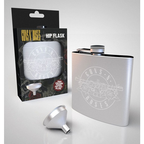 Official Guns N Roses Hip Flask