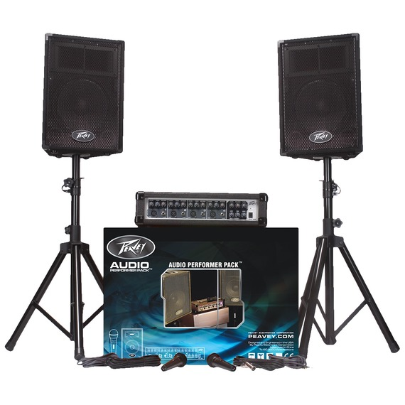 Peavey Audio Performer PA Package PA System