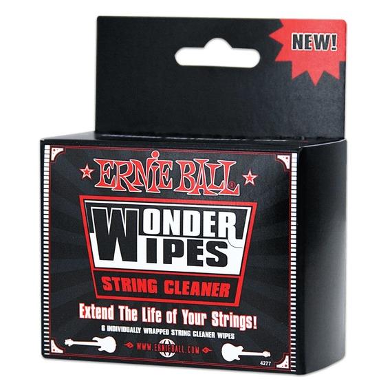 Ernie Ball Wonder Wipe String Cleaner 6 Pack