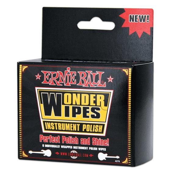 Ernie Ball Wonder Wipe Body Polish 6 Pack