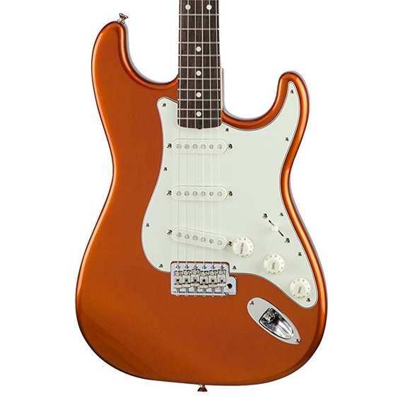 Fender Traditional 60s Strat MADE IN JAPAN - Candy Tangerine / Rosewood